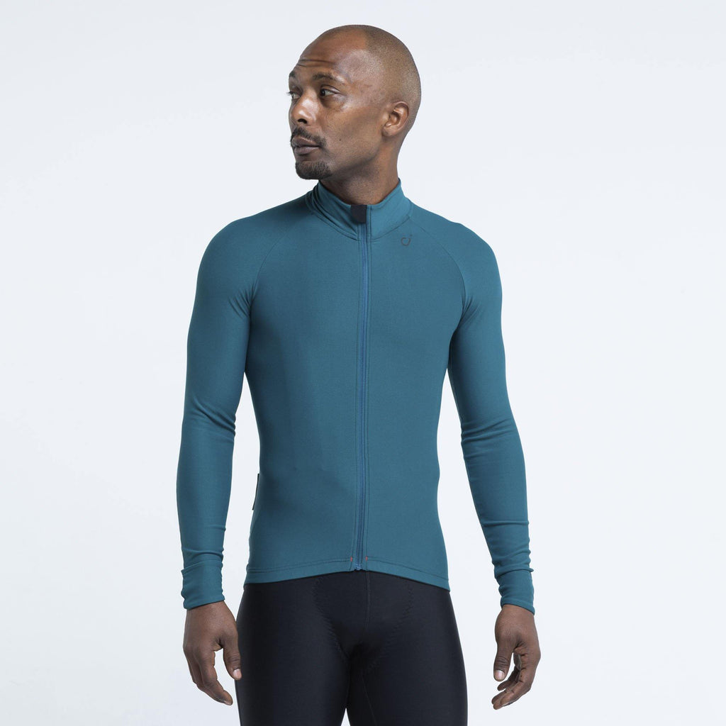 VELOCIO MENS SIGNATURE LONG SLEEVE DEEP SEA - CHAINSMITH BIKE SHOP
