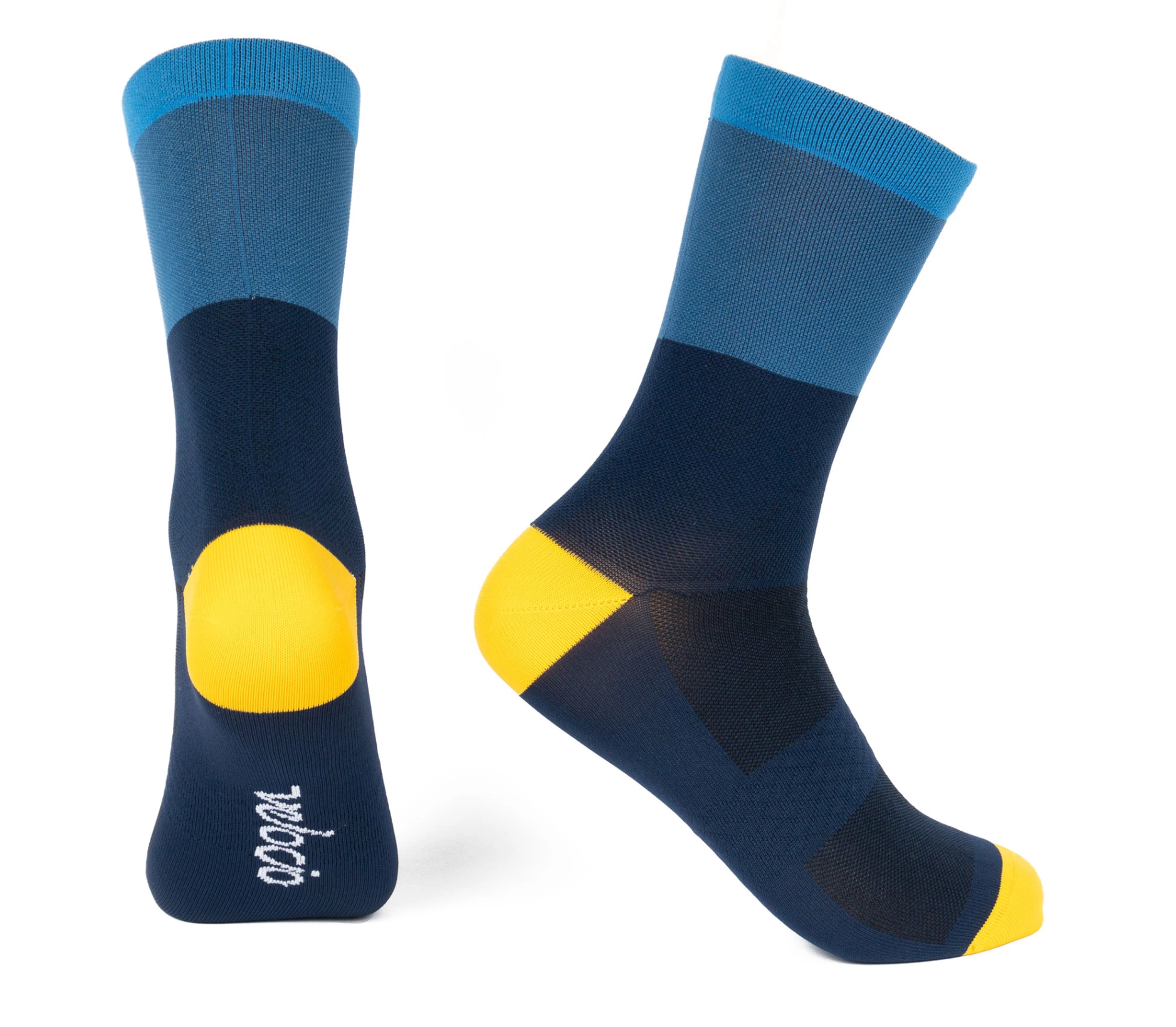 VELOCIO SOCKS TRI COLOUR BLUE
