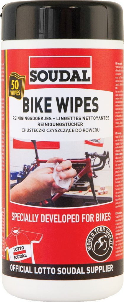 SOUDAL BIKE CLEANER WIPES
