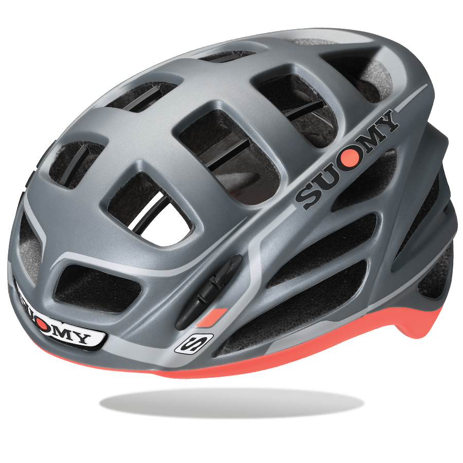 SUOMY HELMET GUNWIND ANTHRACITE / RED MATT