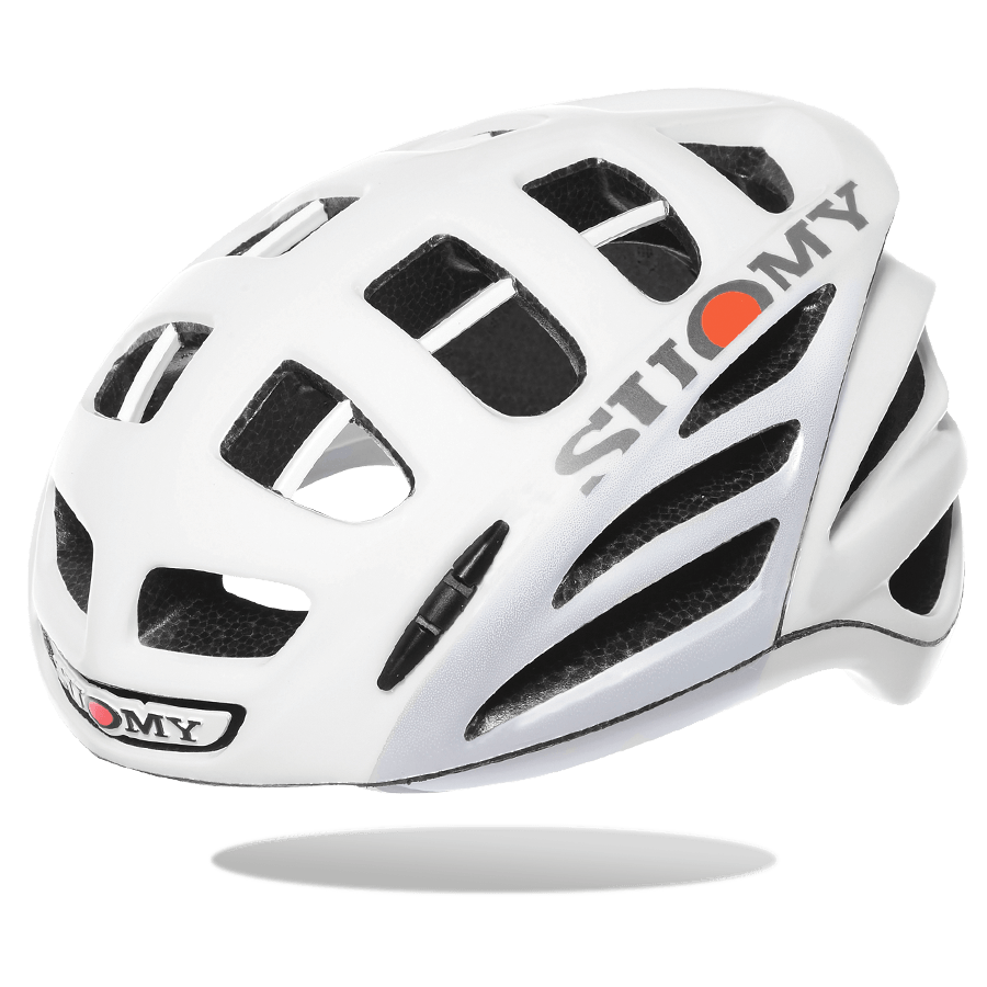 SUOMY HELMET GUNWIND MATT WHITE/GREY