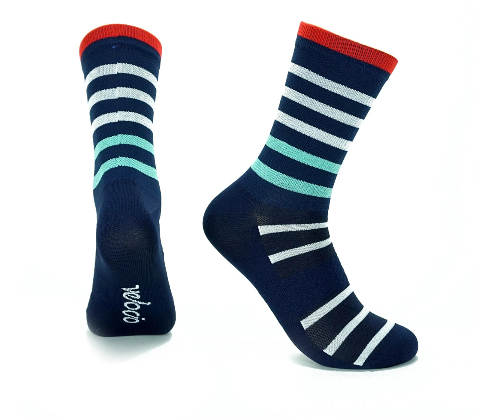 VELOCIO SOCKS BRETON SIGNATURE NAVY