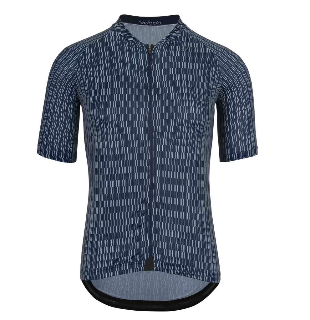 VELOCIO MINI CHECK ULTRALIGHT MENS BLUE JERSEY