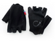VELOCIO BLK SUMMER FINGERLESS RACE GLOVES ACCESSORY