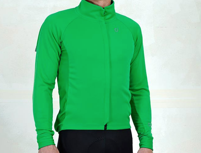 VELOCIO MENS MID JACKET GREEN