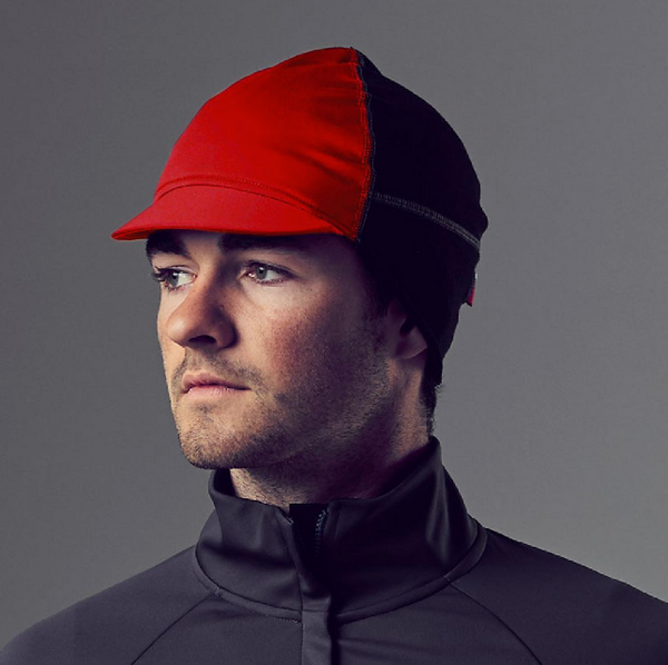 VELOCIO WINTER CAP HEAD WARMER RED