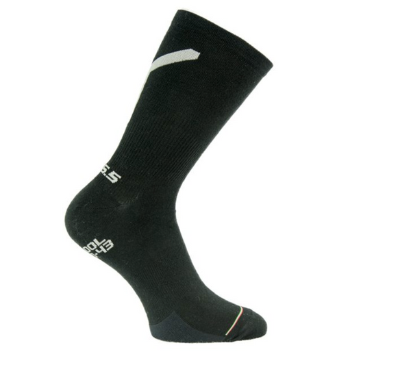 Q36.5 SOCKS IN WOOL WARMER BELOVE SETA BLACK