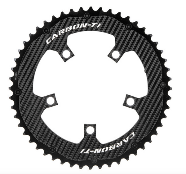CARBON TI CHAINRING X-CarboRing 52 x 110 5 Arms