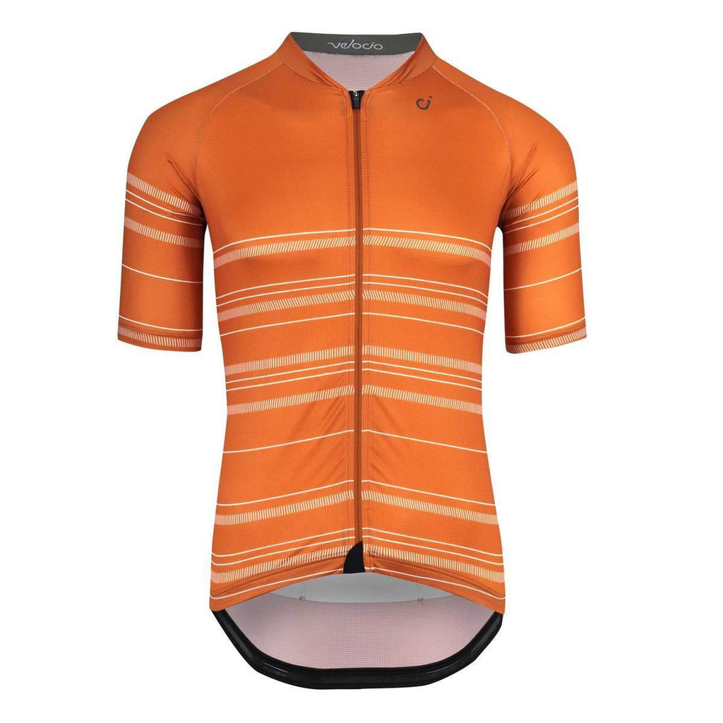 VELOCIO ULTRALIGHT HARVEST MENS JERSEY BURNT ORANGE - CHAINSMITH BIKE SHOP