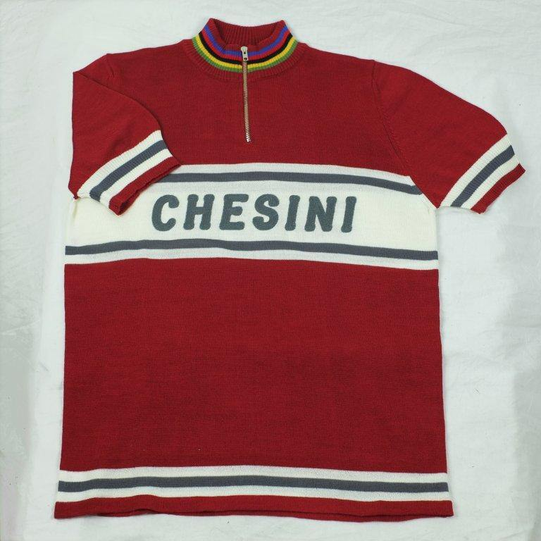 CHESINI MENS JERSEY WOOLEN SHORT SLEEVE - CHAINSMITH BIKE SHOP