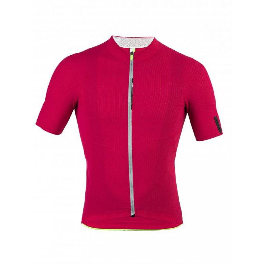 Q36.5 PINSTRIPE MENS JERSEY RED