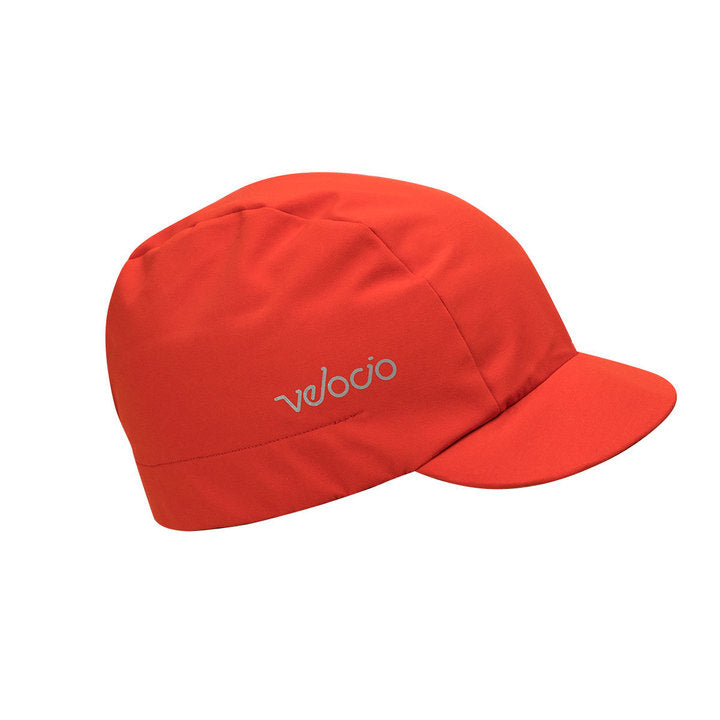 VELOCIO BREATHABLE RAIN CAP RED PEPPER - ONE SIZE ACCESSORY