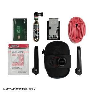 MATTONE SEATPACK SADDLE BAG BY SILCA