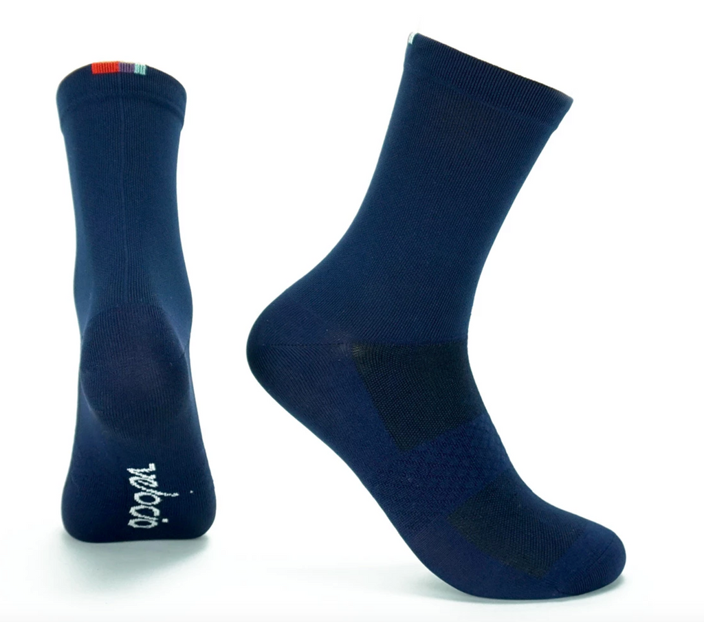 VELOCIO SOCKS SIGNATURE NAVY