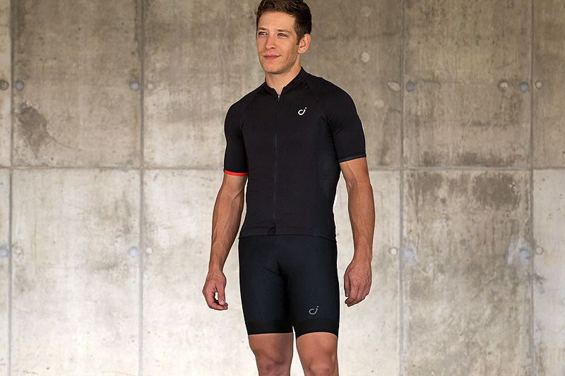 VELOCIO SIGNATURE BLACK MENS JERSEY