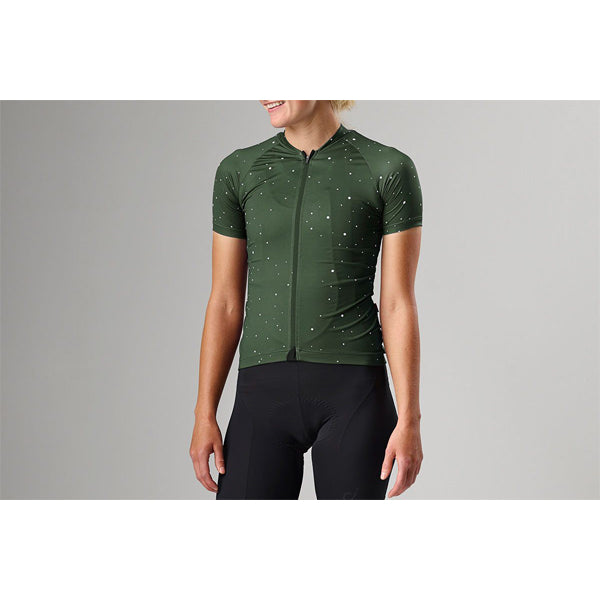 VELOCIO ULTRALIGHT WOMENS JERSEY ARMY GREEN