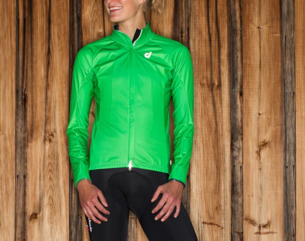VELOCIO WOMENS MID JACKET GREEN