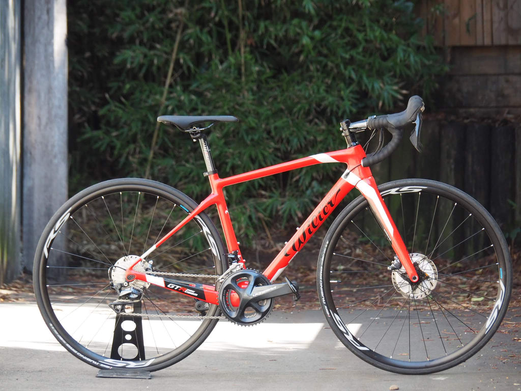 ROAD BIKE WILIER TRIESTINA GTR TEAM DISC FACTORY COMPLETE