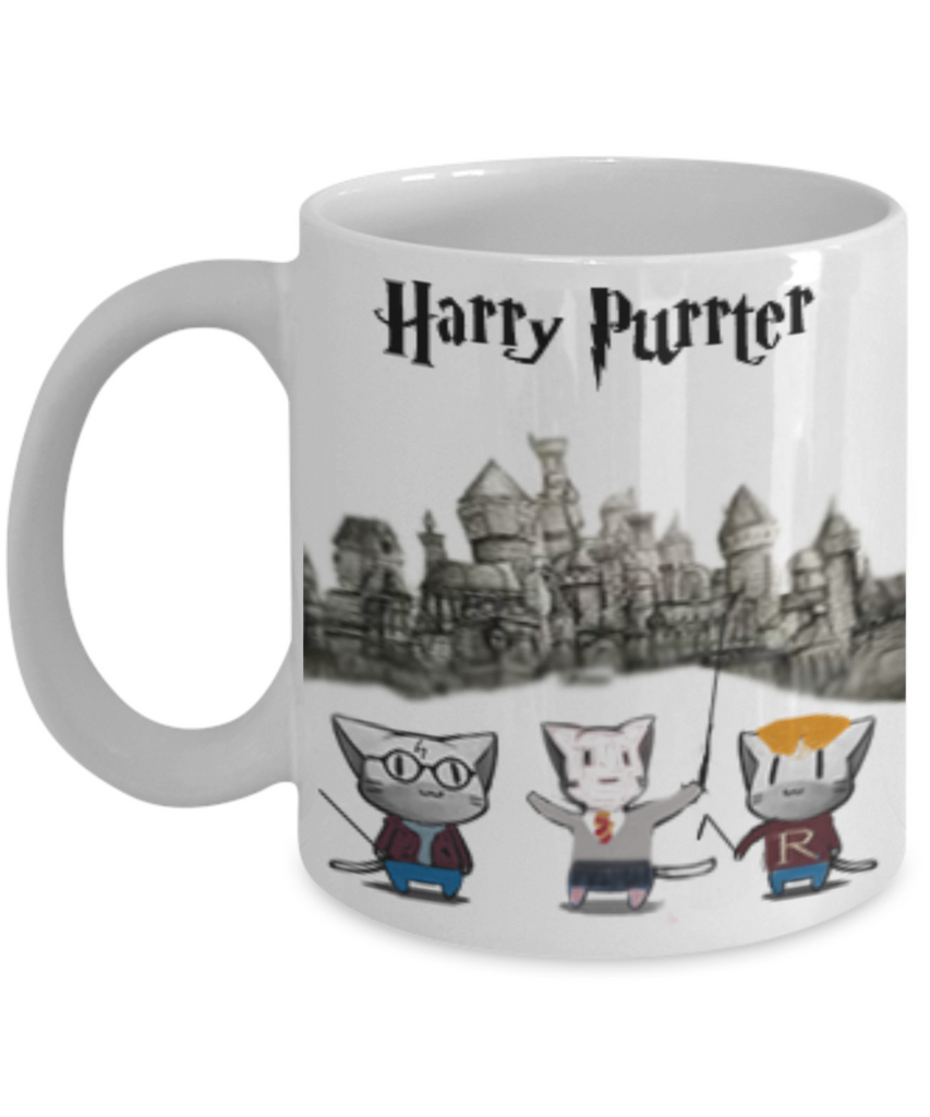 Harry Purrter Fun Cat Mug