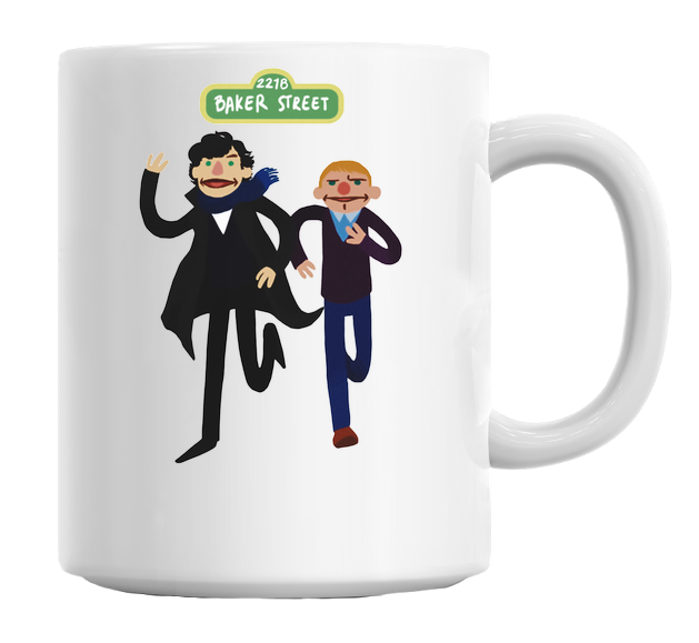 Funny Sherlock And John Mug