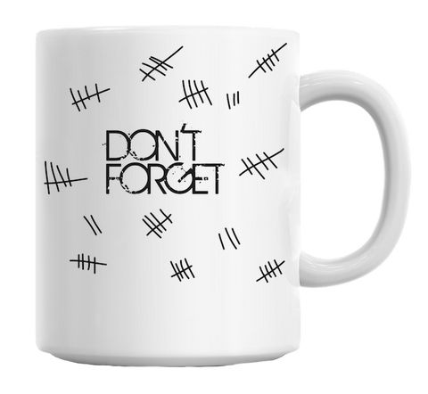 Doctor Who Don't Forget Mug