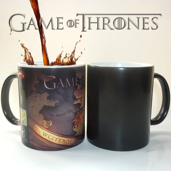 Gane of Thrones Color Changing Mug