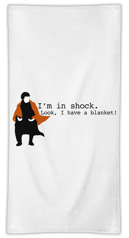 Sherlock Shock Towel