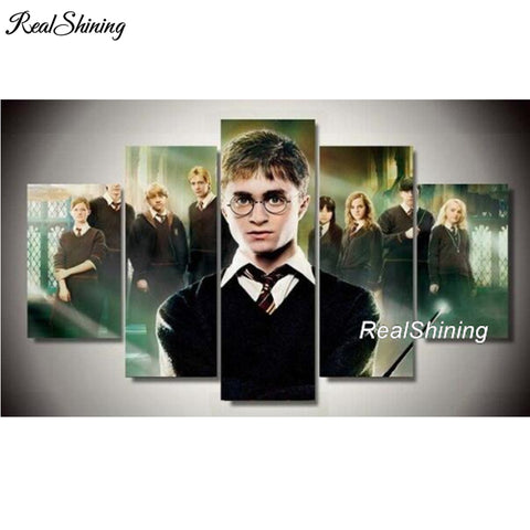 Harry Potter Wall Art 5 Piece
