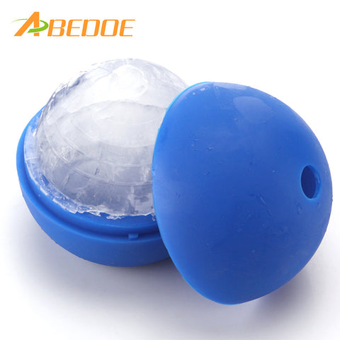 Silicone Blue Wars Death Star Round Ball Ice Cube Mold