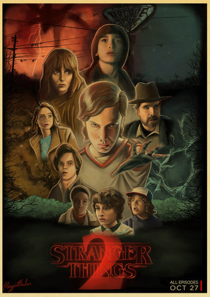 Stranger Things 2 Retro Poster
