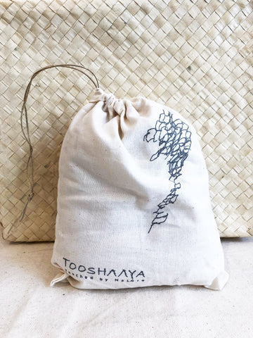 dust bag, 100% cotton, eco friendly TOOSHAAYA