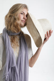 Lavender Lilac Big Air Bamboo Sheer Scarf