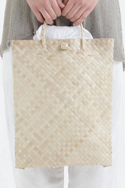 Natural Woven Bag