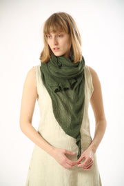 Big Soy Air Scarf - Geen