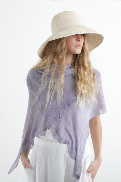 Ripples Bamboo Scarf- Lavender Lilac