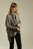 Gray Cardigan Soy Sweater - Kisim