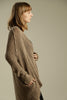 Linen Brown Chunky Sweater