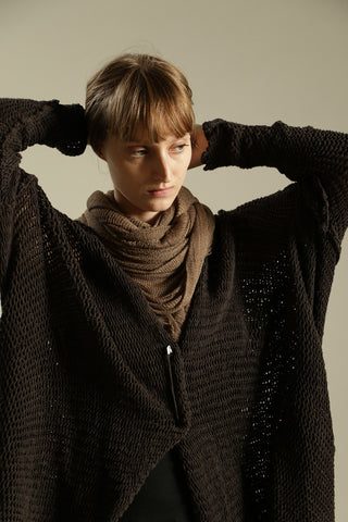 Dark Brown Chunky Sweater