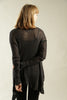 Charcoal Black Light Cardigan - Prevo