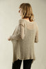 Gray Taupe Light Cardigan - Prevo