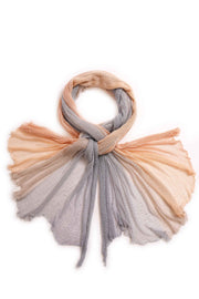 Aqvarelle Big Air Bamboo Sheer Scarf - Sunset