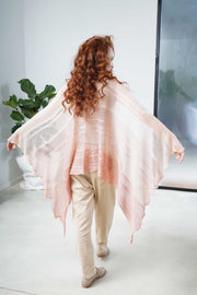 Aqvarelle Ripples Bamboo Scarf - Pink