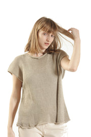 Giza Shirt - Taupe Gray