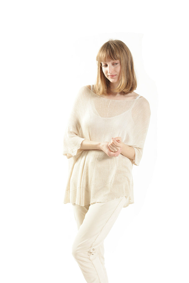 Summer Bamboo Shirt - Ivory