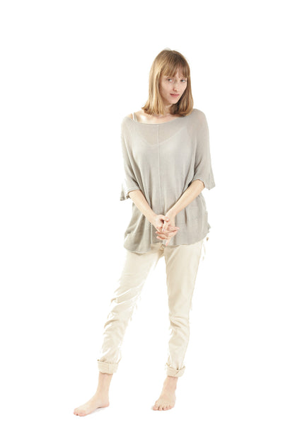 Summer Bamboo Shirt - Taupe