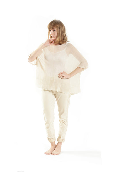 Summer Bamboo Shirt - Cream