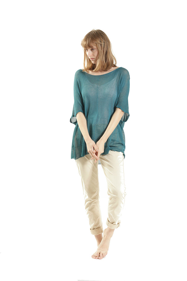 Summer Bamboo Shirt - Teal