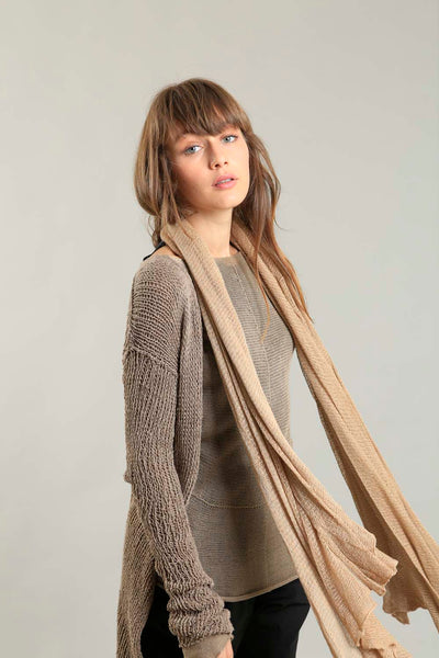 Big Air Bamboo & Soy Scarf - Send beige