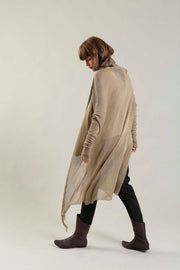 Golden Camel Long Bamboo Cardigan