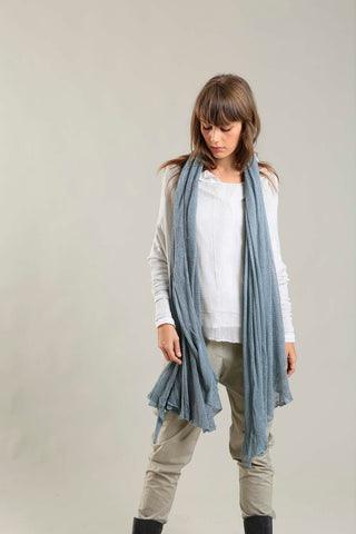 Big Air Bamboo & Soy Scarf - Dusty Blue Fog